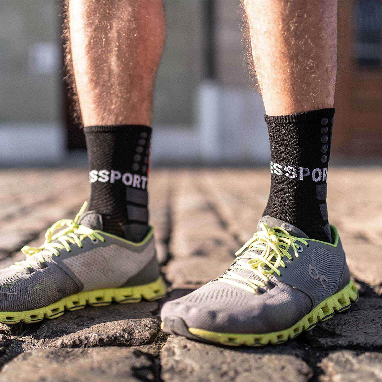 Compressport Shock Absorb Socks - Black