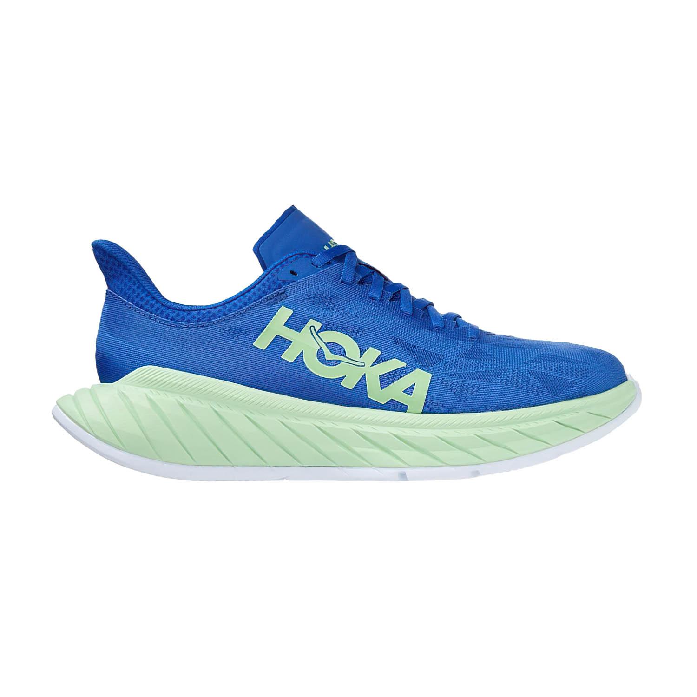 Hoka One One Carbon X 2 - Dazzling Blue/Green Ash