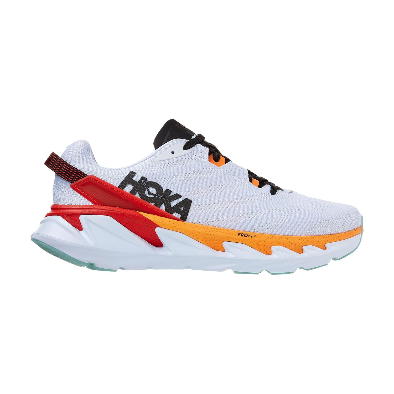 Hoka One One Elevon 2 - White/Blazing Orange