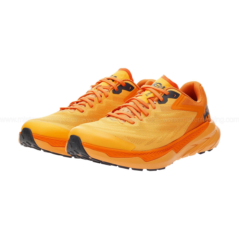 Hoka One One Zinal - Blazing Orange/Persimmon Orange