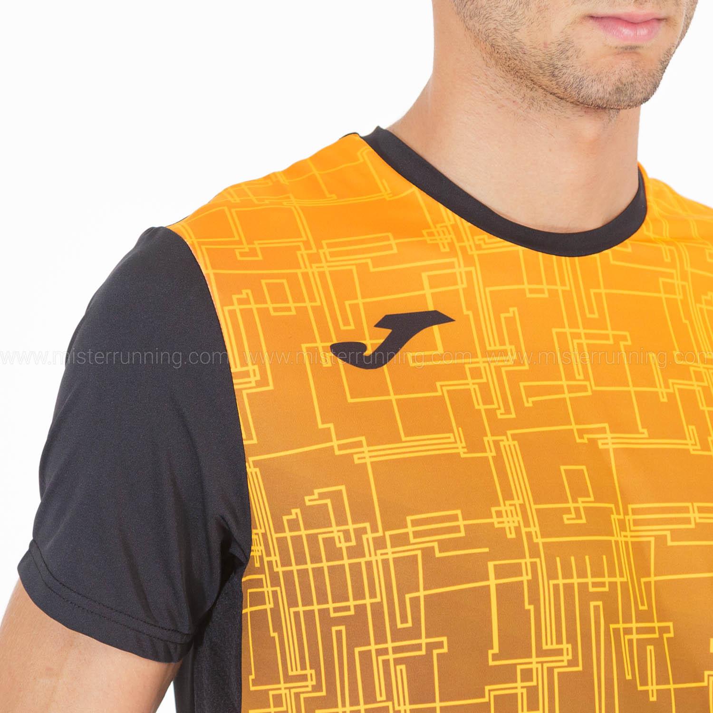 Joma Elite VIII Camiseta - Black/Orange