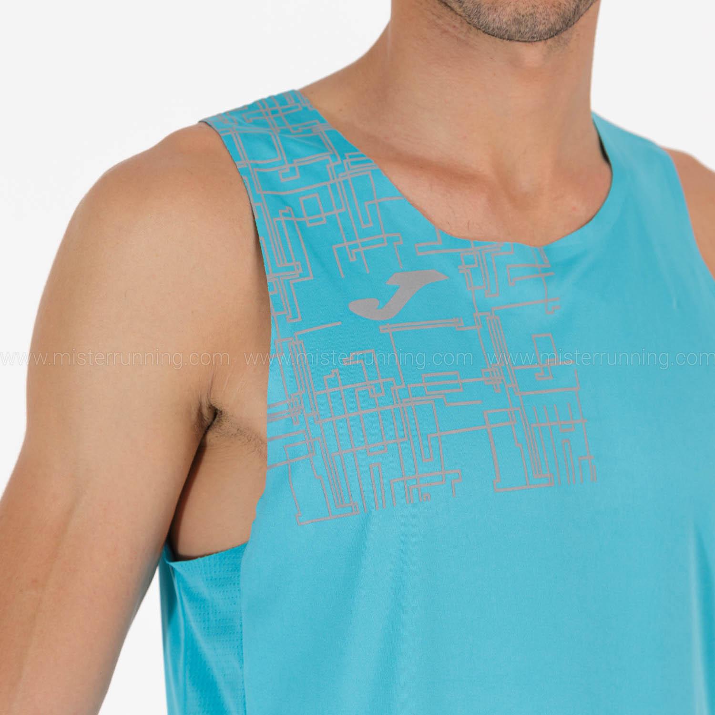 Joma Elite VIII Logo Tank - Turquoise