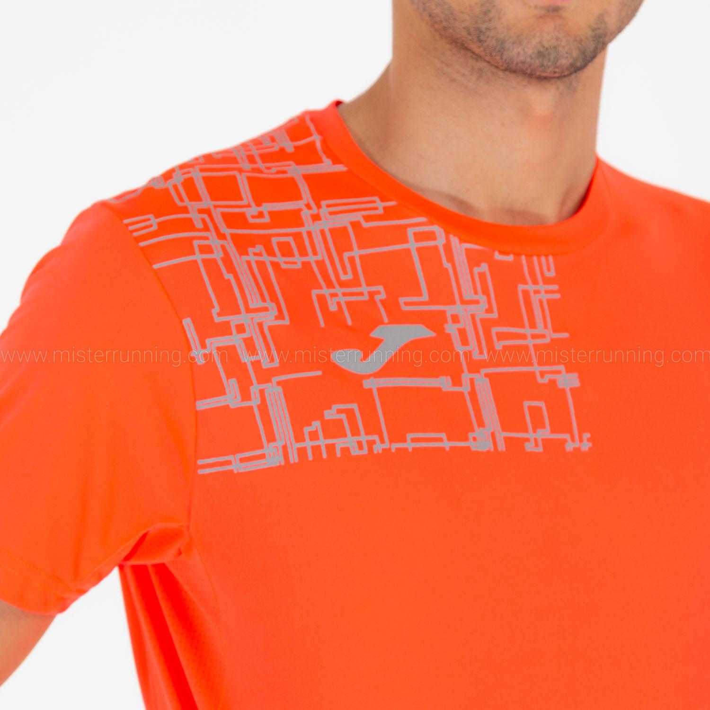 Joma Elite VIII Logo Camiseta - Fluor Coral