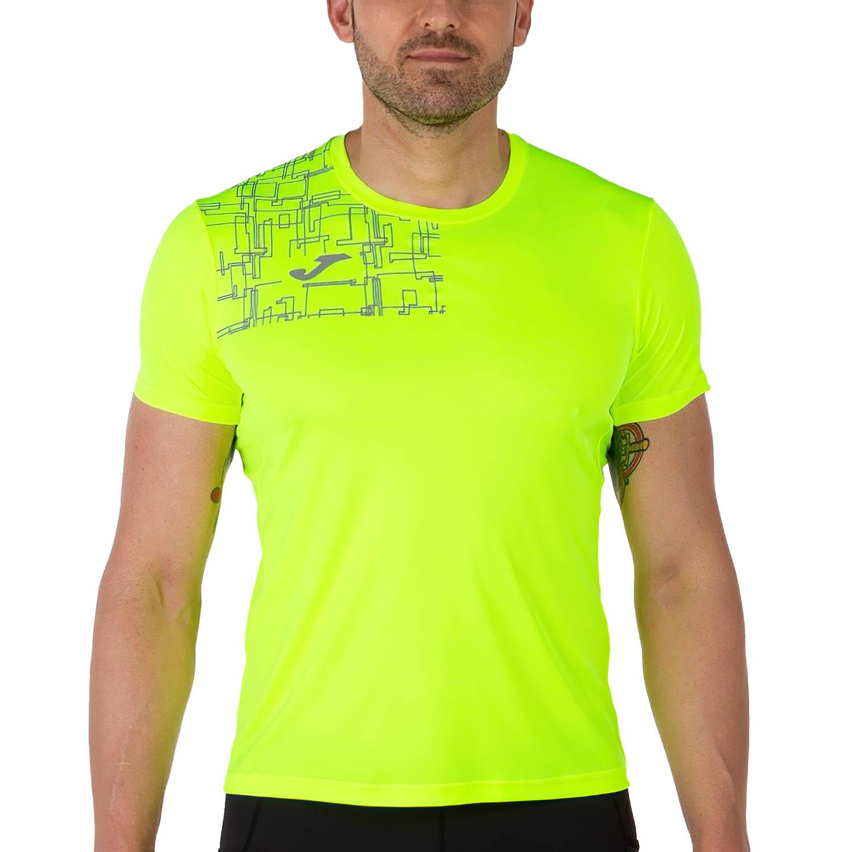 Joma Elite VIII Logo Camiseta - Fluor Yellow