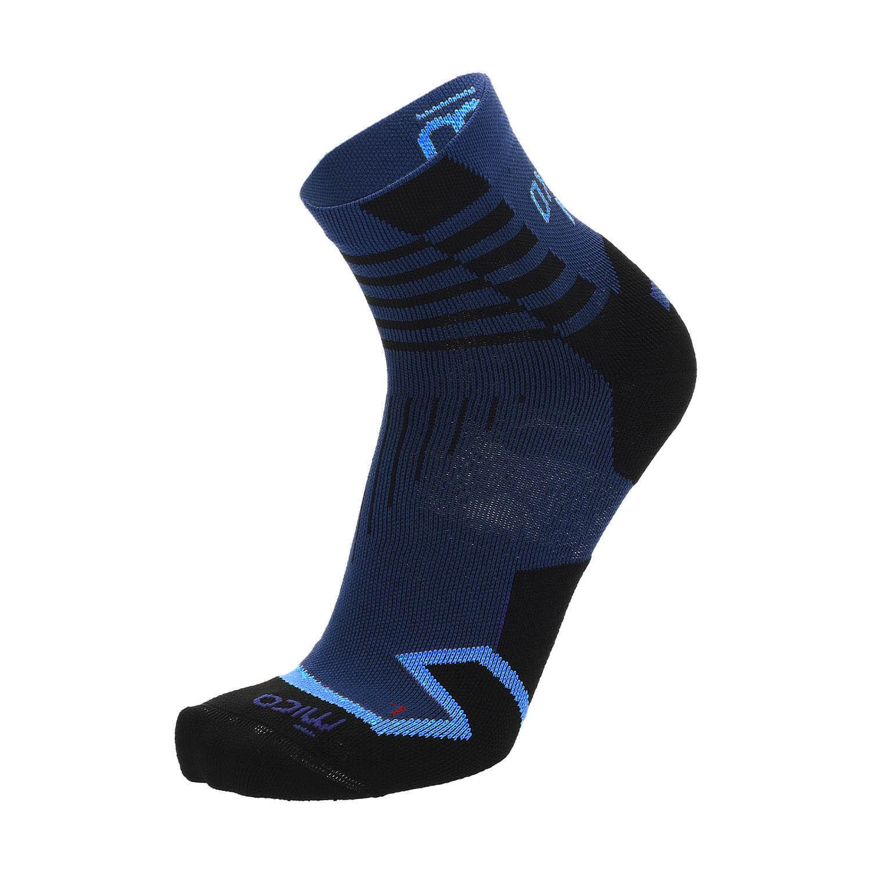Mico Oxi-jet Light Weight Compression Socks - Dark Lake