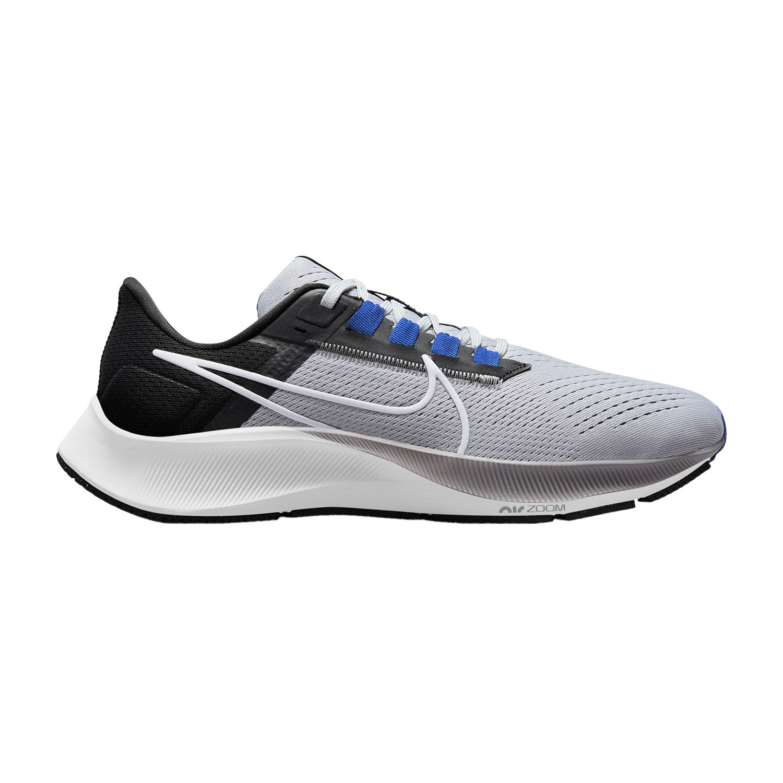 Nike Air Zoom Pegasus 38 - Wolf Grey/White/Black/Hyper Royal