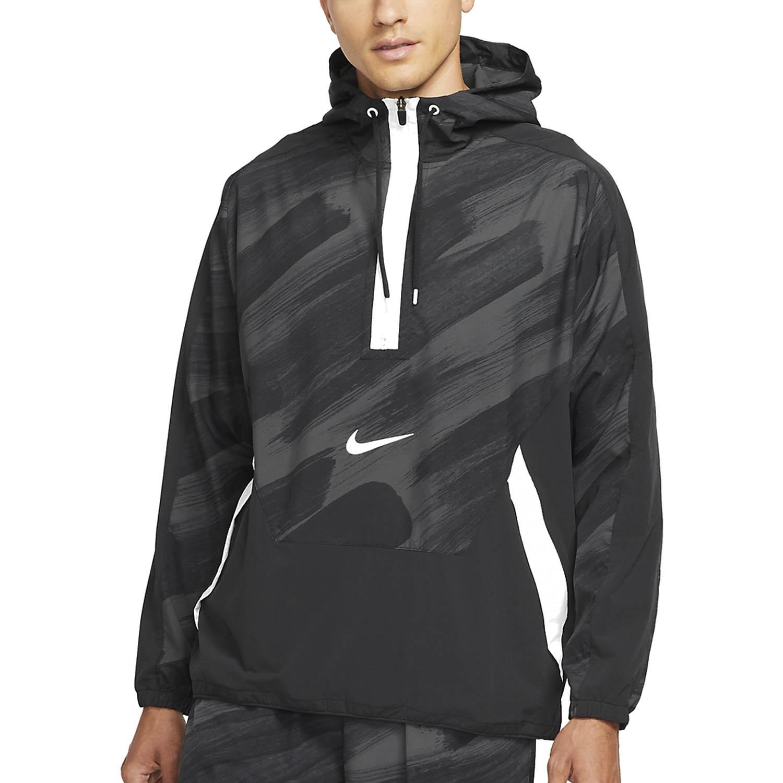 Nike Dri-FIT Sport Clash Chaqueta - Black/White