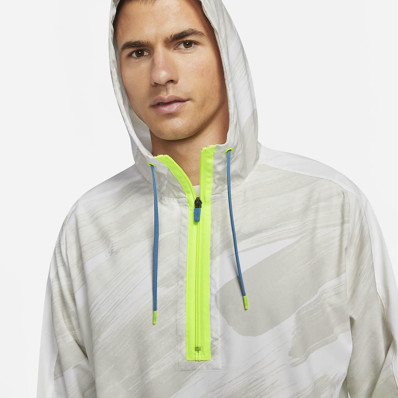 Nike Dri-FIT Sport Clash Chaqueta - White/Dutch Blue