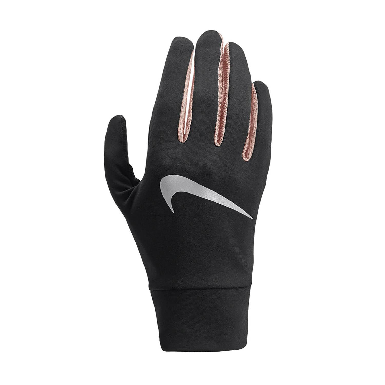 Nike Dry Lightweight Tech Guanti Donna - Black/Pink/Silver