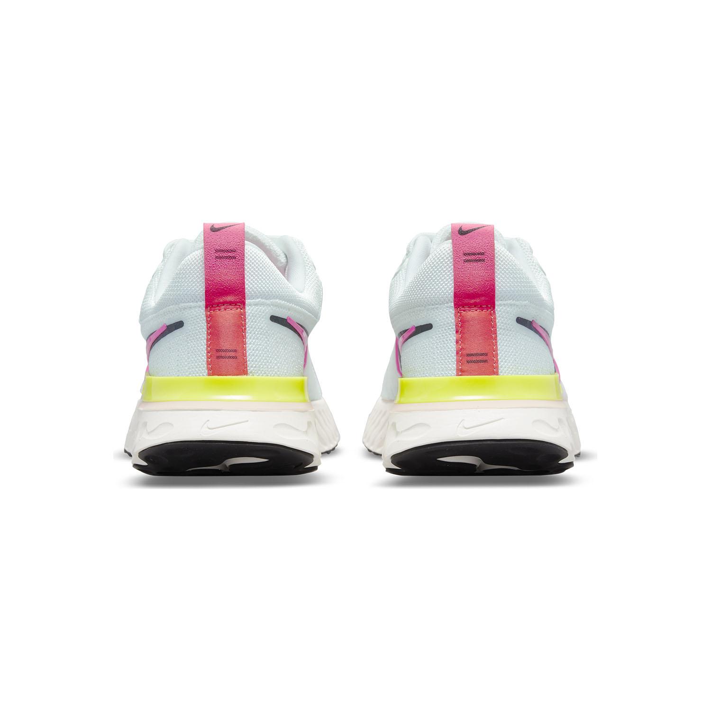 Nike React Infinity Run Flyknit 2 - White/Black/Sail Pink/Blast