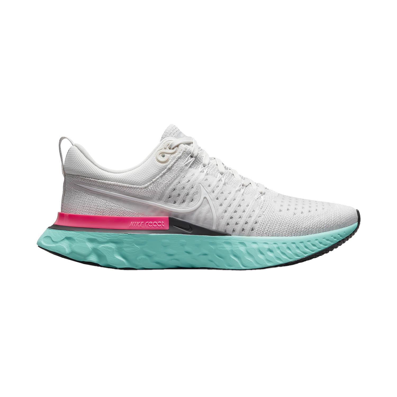 Nike React Infinity Run Flyknit 2 - Platinum Tint/White/Grey Fog