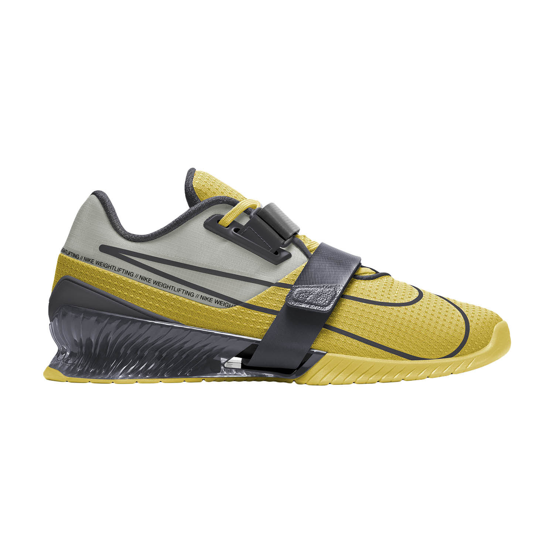 Nike Romaleos 4 - Bright Citron/Dark Smoke Grey/Grey Fog