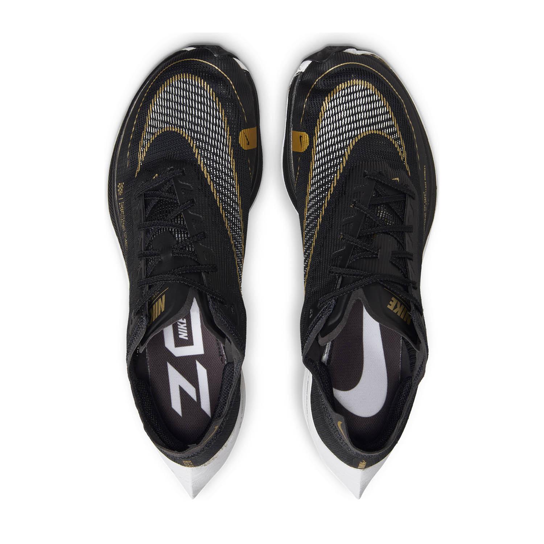 Nike ZoomX Vaporfly Next% 2 - Black/White/Metallic Gold Coin