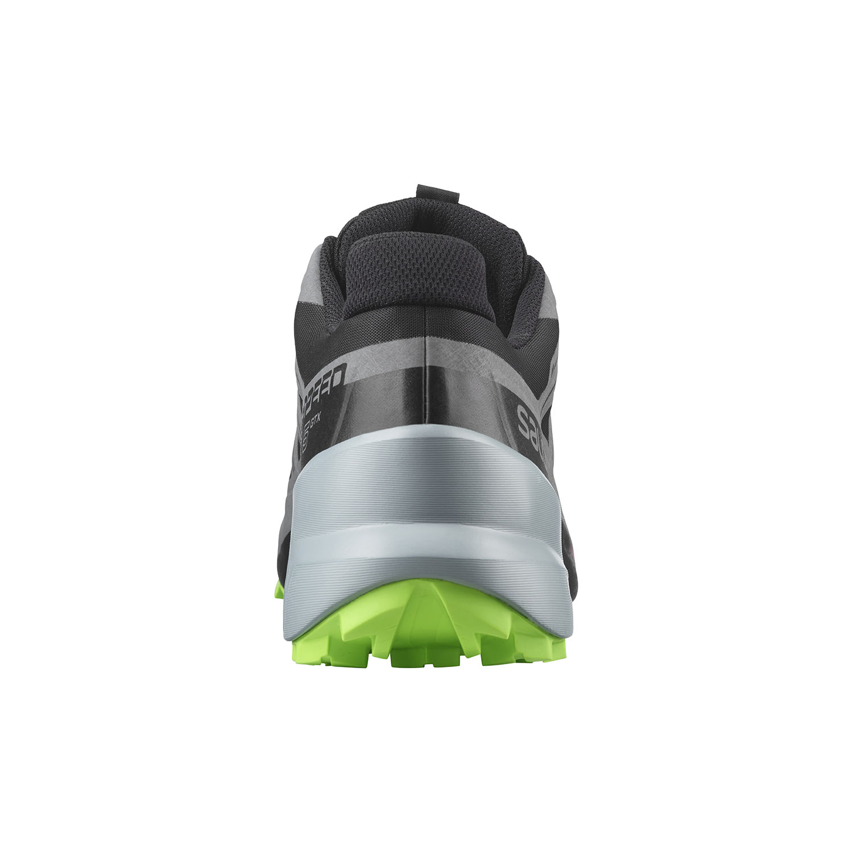 Salomon Speedcross 5 GTX - Black/Quiet Shade/Green Gecko