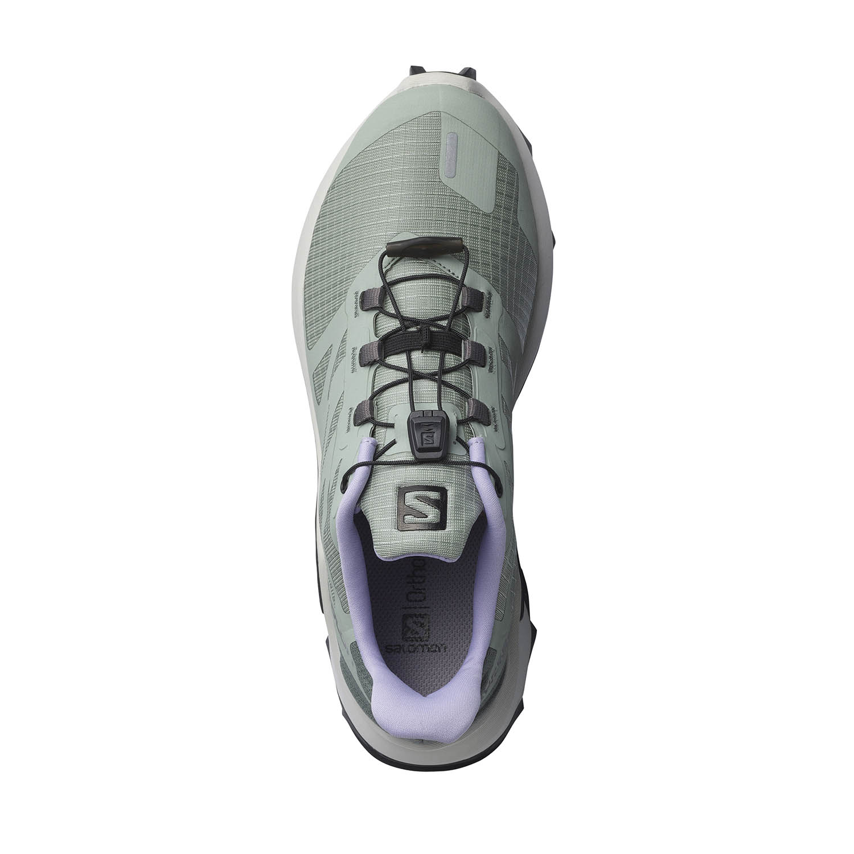 Salomon Supercross 3 - Green Milieu/Lunar Rock/Lavender