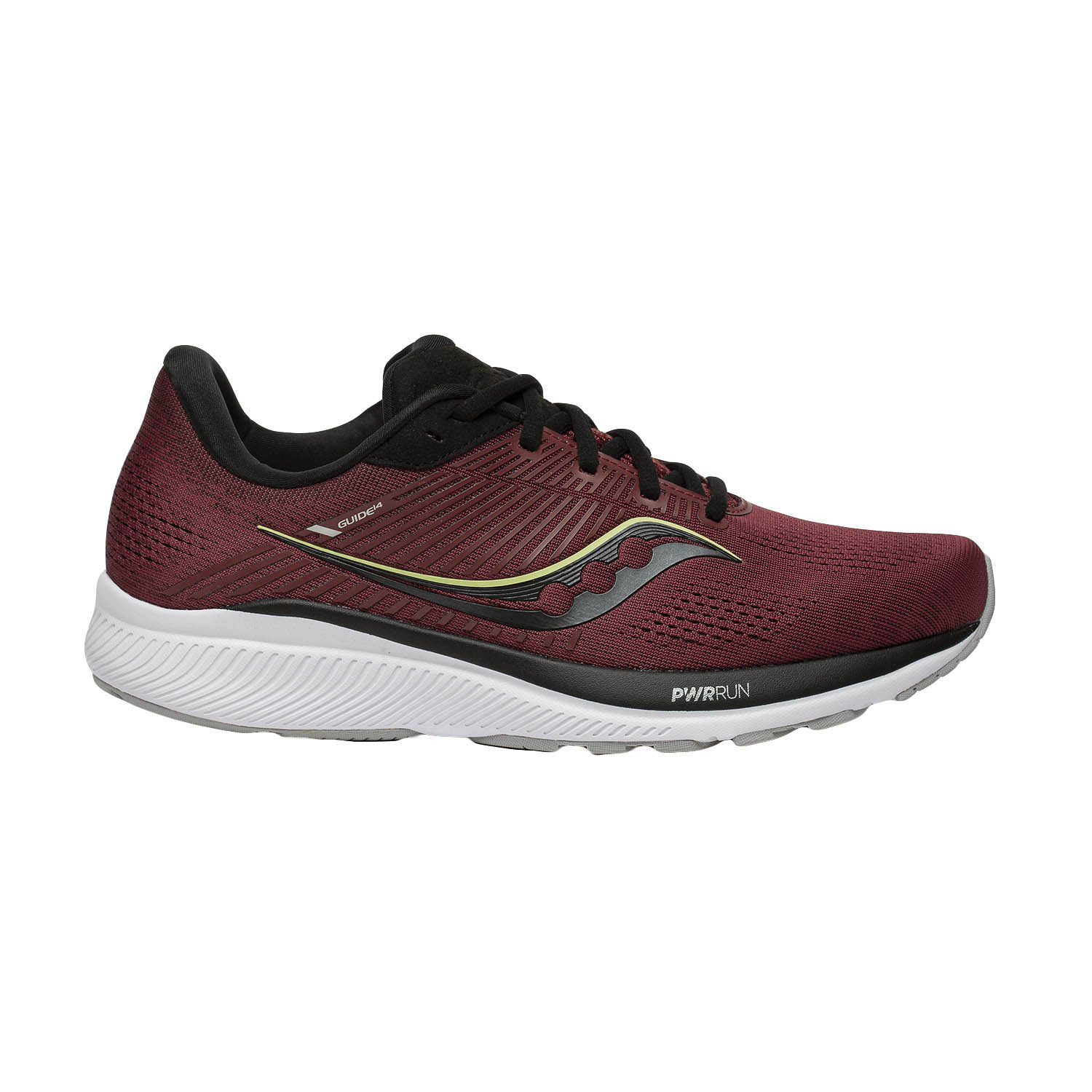 Saucony Guide 14 - Mulberry/Lime