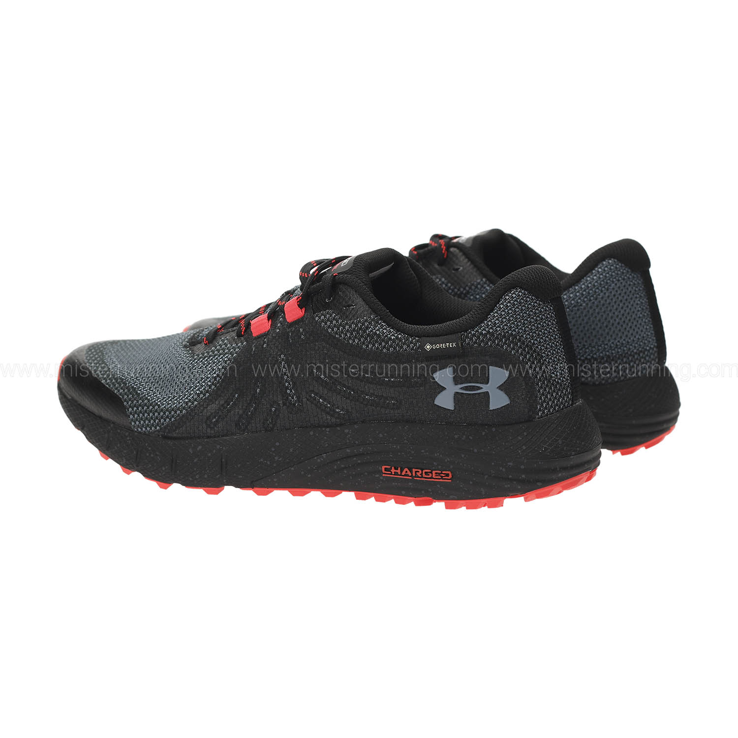 Under Armour Charged Bandit Trail GTX - Black/Wire