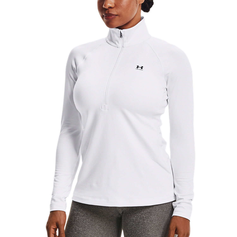Under Armour Authentics ColdGear Shirt - White/Black
