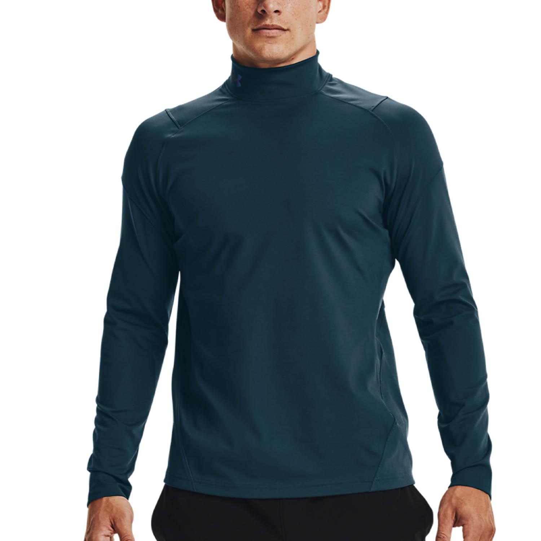 Under Armour ColdGear Rush Shirt - Blue Note/Black