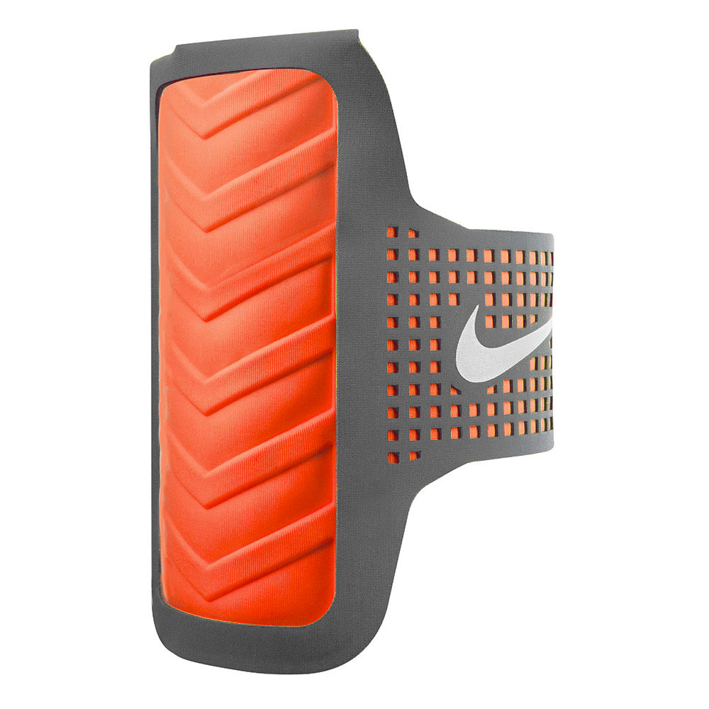Nike Distance Galaxy S4 Arm Band - Grey/Orange