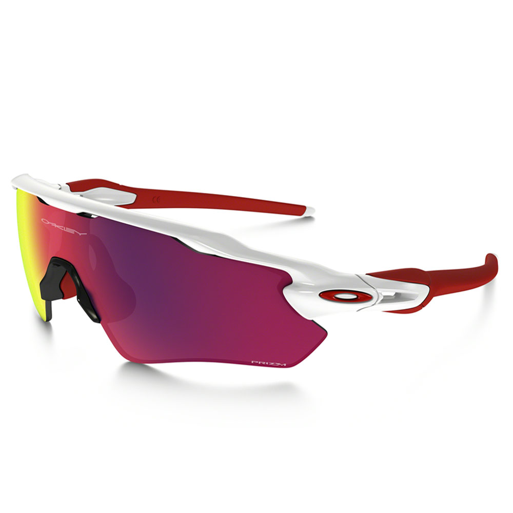 Oakley Radar EV Path Glasses - Polished White/Prizm Road
