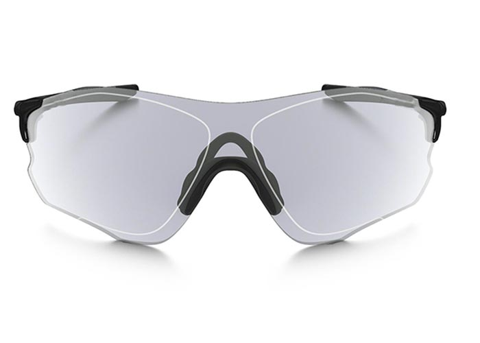 Oakley EVZero Path Glasses - Polished Black/Clear Black Iridium Photochromic