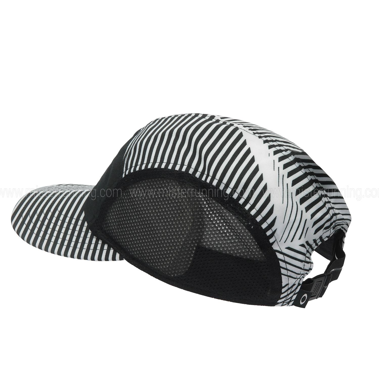 Oakley 5 Panel Performance Running Cap - Black White f2395101fbf