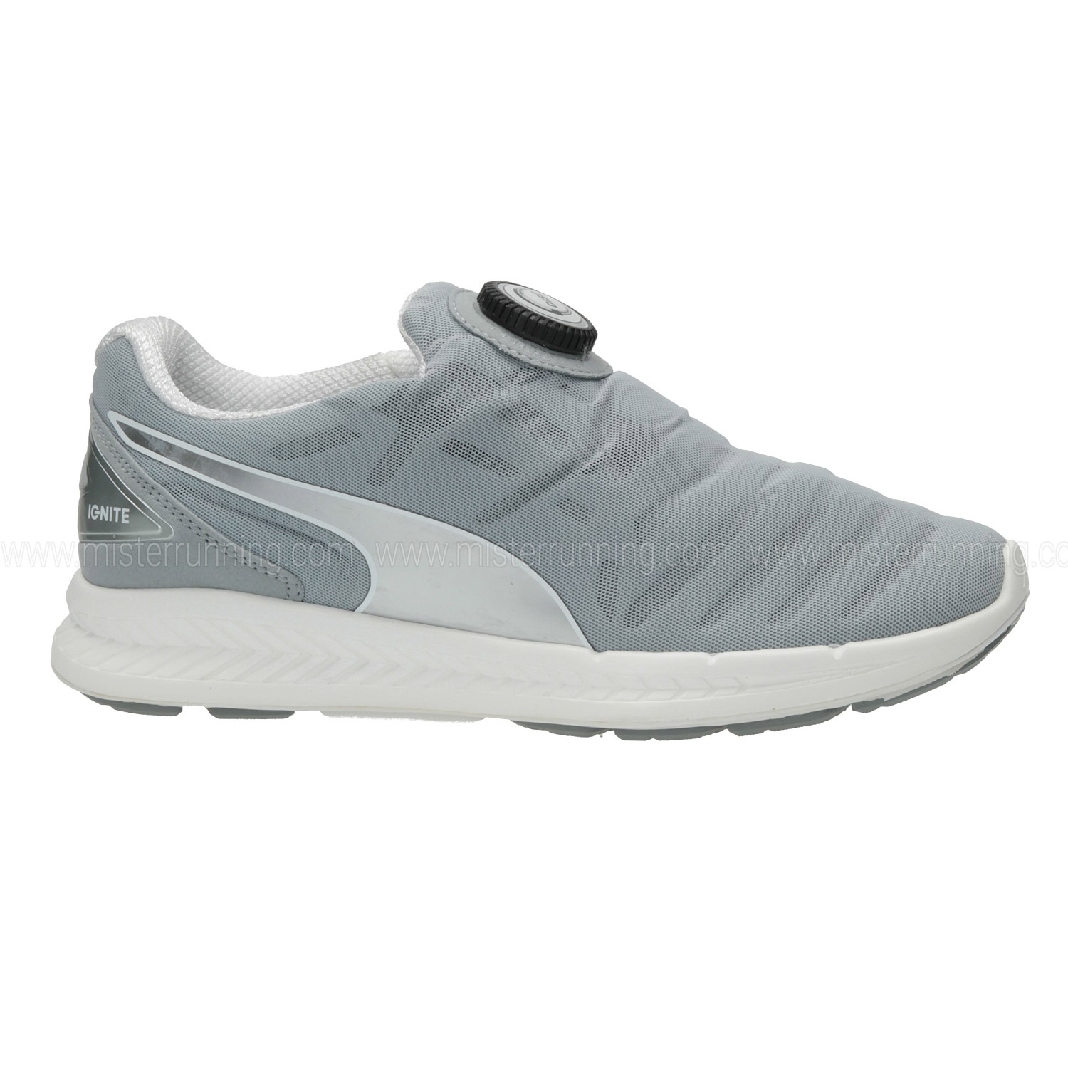 eb040adbbb5 Puma Ignite Disc Women s Running Shoes - Grey White