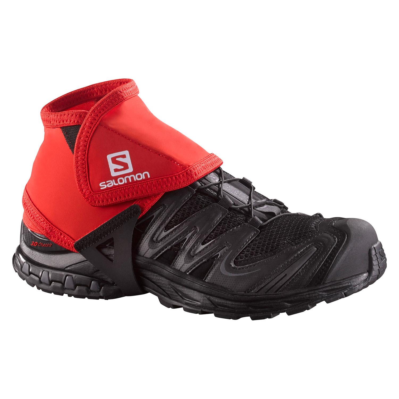Salomon Trail Low Gaiters - Red