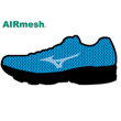 Mizuno Air Mesh