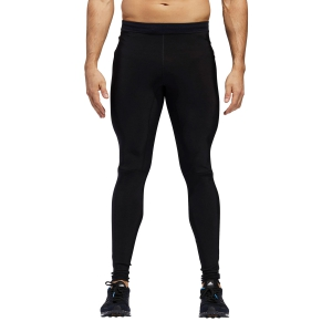 Pants Running Uomo Adidas Supernova Climaheat Tights  Black CY5816