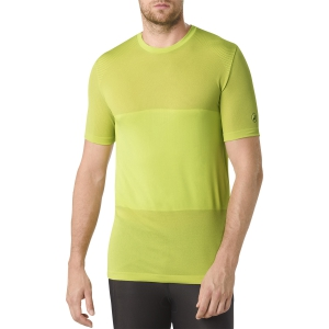 Men's Running T-Shirt Asics FuzeX Seamless TShirt  Lime 141239.0432