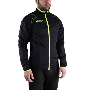 Men's Running Jacket Asics Taurus Jacket  Black/Volt T258Z6.9082