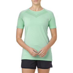 Women's Running T-Shirts Asics Cool TShirt  Mint Green 154527.0498