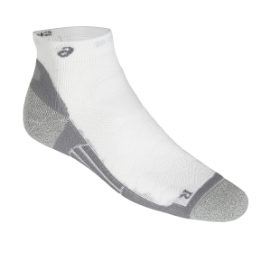Running Socks Asics Road Quarter Socks  White/Grey 150224.0001