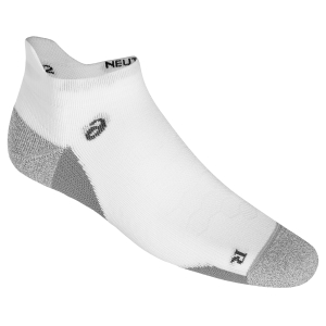 Running Socks Asics Road Neutral Ankle Socks  White/Grey 150226.0001