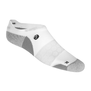 Running Socks Asics Road Neutral Ped Single Tab Socks  White/Grey 150227.0001