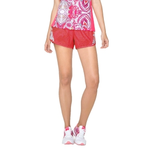 Women's Running Shorts or Skirt Desigual Paisley Shorts  Pink 71P2SA13192