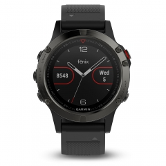 Sport Watch Garmin Fenix 5  Grey/Black 0100168800