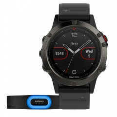 Sport Watch Garmin Fenix 5 Performer Bundle  Grey/Black 0100168830