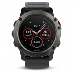 Sport Watch Garmin Fenix 5X Sapphire  Grey/Black 0100173301