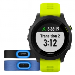 Garmin Forerunner 935 Tri Bundle - Black/Yellow