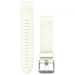 Sport Watche Spare Band Garmin QuickFit 20 mm Replacement Band for Fenix 5S  White 0101249110
