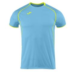 Joma Olimpia T-Shirt - Turquoise/Volt