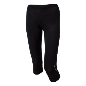 Women's Running Tights Mico Pulse 3/4 Tights  Black CM 0453 007