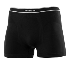 Underwear Mico Skintech XStatic Boxer  Black IN 1788 007