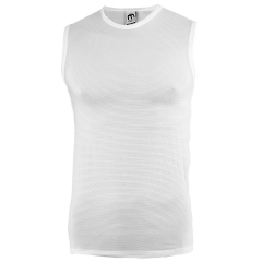 Underwear Mico Micotex 100 Singlet  White IN 3618 001