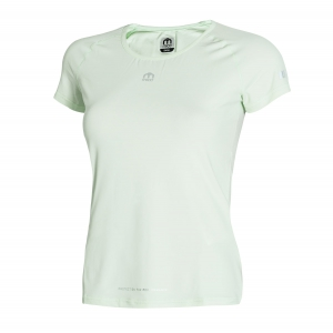 Women's Running T-Shirts Mico Advanced TShirt  Light Mint Green MA 7519 336