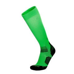 Running Socks Mico OxyJet Light Socks  Fluo Green/Black CA 1275 122