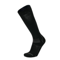 Running Socks Mico OxyJet Medium Socks  Black/Grey CA 1275 170